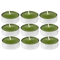 Set de 9 velas tealight