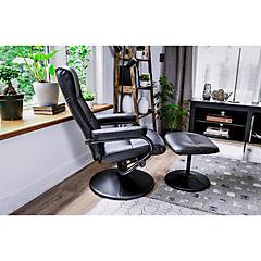 Sillón reclinable 97x79x68 cm negro