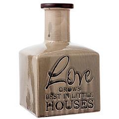 Botella cerámica Love 21 cm