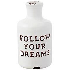 Botella cerámica Dreams 13 cm