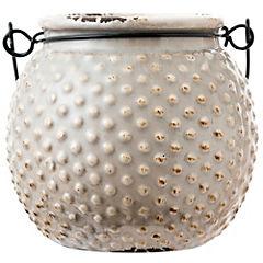 Base mini 10x7,5 cm cerámica Beige