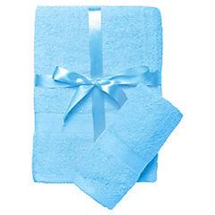 Set de 2 toallas Italia celeste