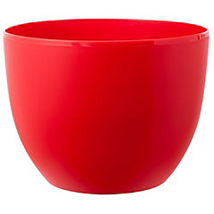 Macetero de plástico 40 cm Rojo
