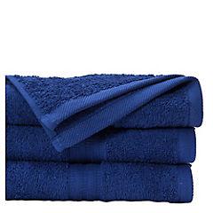 Toalla de baño azul