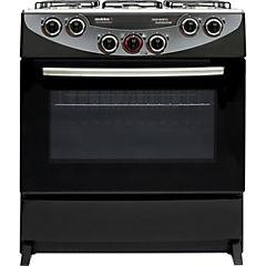 Cocina 6 platos CH-9850 negro