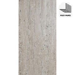 Porcelanato 30x60 cm Travertino beige 1.44 m2