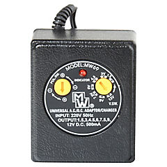 Eliminador de pilas 0,5 A 9 W