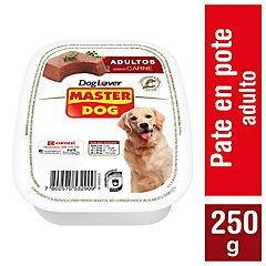 Alimento húmedo para perro adulto 250 gr carne