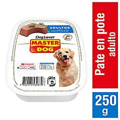 Alimento húmedo pote pollo 250 gr