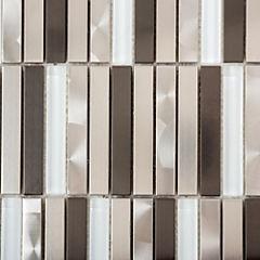 Malla rectangular 30x30 cm metal vidrio