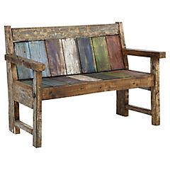 Escaño madera 60x120x100 cm