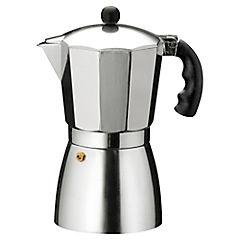 Cafetera aluminio 6 tazas Gris
