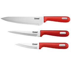 Set de cuchillos Mestre 3 piezas