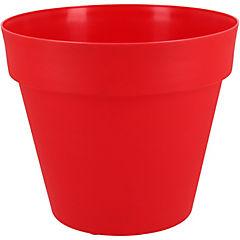 Macetero Essence rojo 20 cm de diámetro