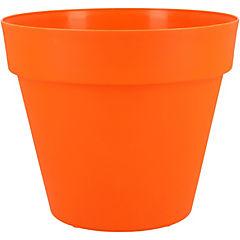Macetero Essence naranja 20 cm de diámetro