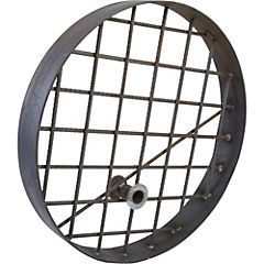Tapa cámara para hormigonar acero 71 cm