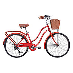 Bicicleta City Petit matte red