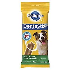 Dentastix snack cuidado oral para perro raza mediana, 7 unidades