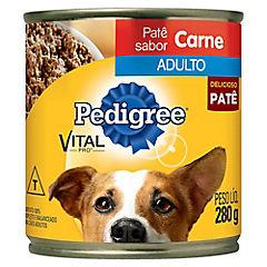 Alimento húmedo en lata para perro adulto, sabor carne 280 gr