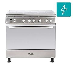 Cocina a gas 5 quemadores 104 litros gris