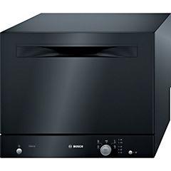Lavavajillas compacto negro SKS51E26EU