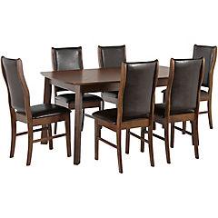 Juego de comedor mesa + 6 sillas Food
