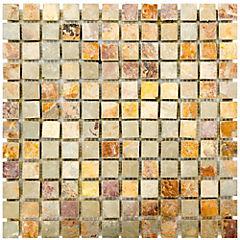 Malla Treviso óxido 30,5x30,5 cm