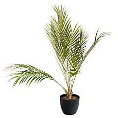 Palma Areca Tropical Artificial 80 cm