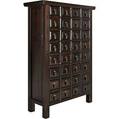Mueble cabinet 32 cajones 75x30x109 cm