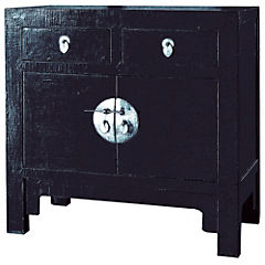 Mueble cabinet pequeño 2 puertas 2 cajones