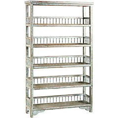 Mueble cabinet 5 repisas 100x28x179 cm