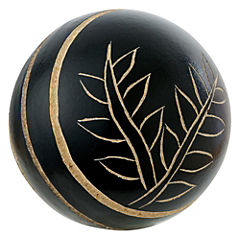 Set 4 esferas 7 cm madera caja