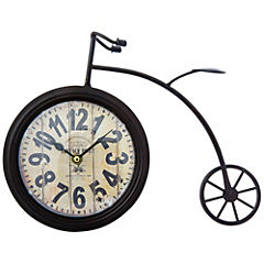 Reloj decorativo 25x33 cm metal Negro