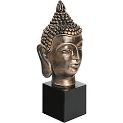 Buda decorativo 38x15x15 cm resina Dorado