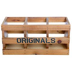 Caja decorativa 11,5x10,5x24 cm madera