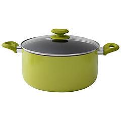 Olla de 26 cm aluminio Rainbow verde