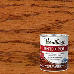 Varathane tinte + poliuretano base agua cedro tradicional 0,9l