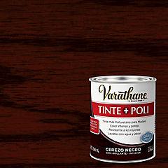 Tinte poliuretano a base de agua semibrillante 0,9 l Cerezo negro