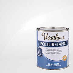 Varathane poliuretano interior base aguabrillante 0,9 l