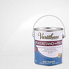 Varathane poliuretano piso base agua satinado 3,8 l