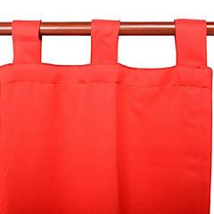 Cortina Sunout rojo 140x230 cm