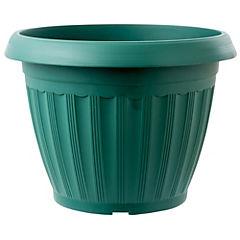 Maceta redonda Atenas 39 cm color verde