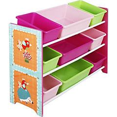 Organizador 9 cajas Pinky Zoo