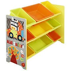 Organizador 9 cajas Jungle