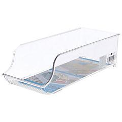 Organizador de freezer 13,7x10,4x34,8 cm acrílico Transparente