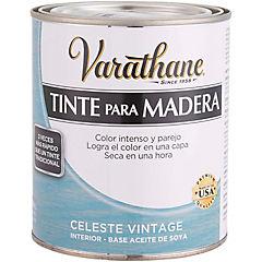 Tinte para madera 0,946 l Celeste vintage