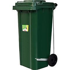 Basurero con tapa 120 litros Verde