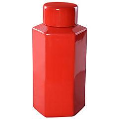 Jarro Hexagonal rojo 32 cm