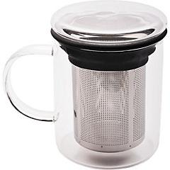 Tazón de 350 ml infusor acero con tapa
