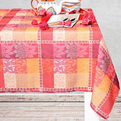 Mantel macrame rectangular 150x230 cm rojo